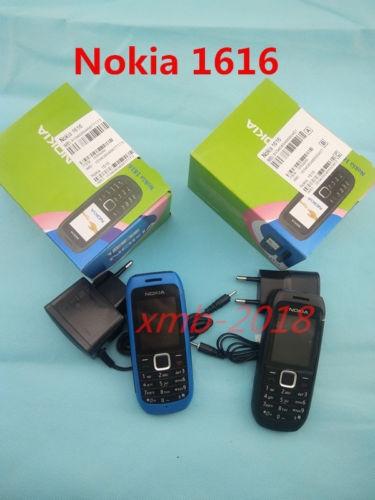 Refurbished phone Nokia 1616 Original Brand Mobile Phone GSM Unlocked Phone GSM 900/1800 Cheap red 6
