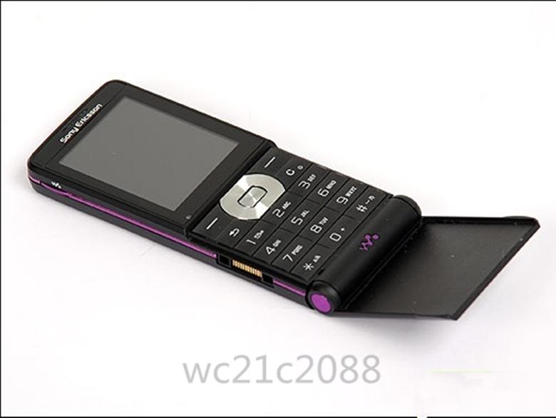 Refurbished phone Original Sony Ericsson W350 W350i 2MP GSM 2G Bluetooth1.3MP GSM Mobile Phone black 1