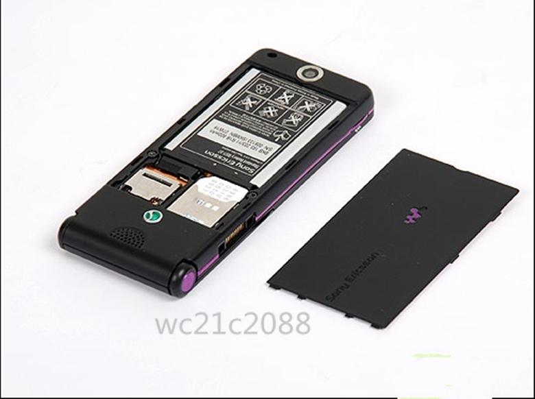 Refurbished phone Original Sony Ericsson W350 W350i 2MP GSM 2G Bluetooth1.3MP GSM Mobile Phone black 2
