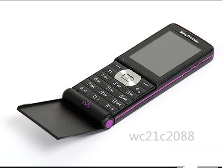 Refurbished phone Original Sony Ericsson W350 W350i 2MP GSM 2G Bluetooth1.3MP GSM Mobile Phone black 5