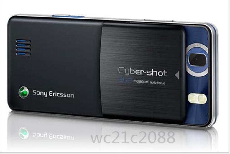Refurbished phone Unlocked Sony Ericsson C510 3G GSM 3.2MP camera music Cell phone sliver 2