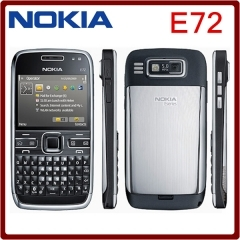 Refurbished phone Nokia E72 cell phones 5MP Camera Wifi Bluetooth FM GPS  phone white