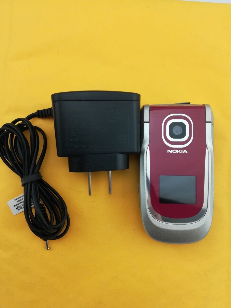Refurbished ORIGINAL Nokia 2760 Blue Silver red 100% UNLOCKED Flip Cell phone sliver 4