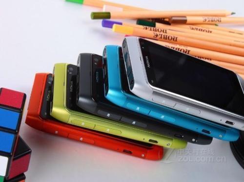 Refurbished nokia N8 smart large-screen hd camera WiFi 12MP 3G smart phone green 16