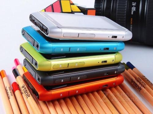 Refurbished nokia N8 smart large-screen hd camera WiFi 12MP 3G smart phone green 19