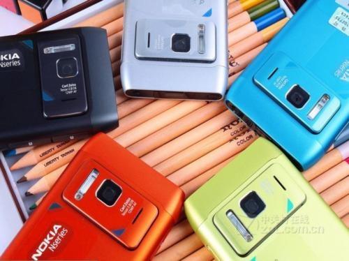 Refurbished nokia N8 smart large-screen hd camera WiFi 12MP 3G smart phone green 17