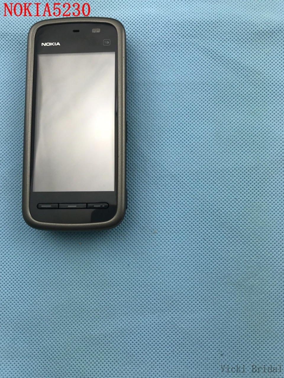 "Refurbished smartphone Nokia 5230 GPS 3G 3.2"" Bluetooth JAVA 2MP Unlocked Mobile Phone white 17"