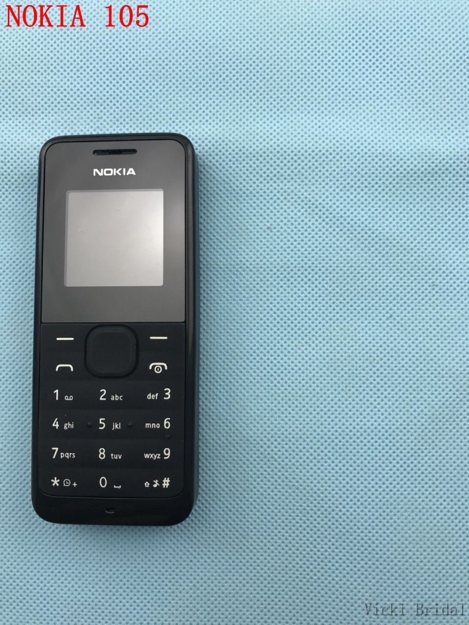 new Original Nokia 105/1050 Ultra-long time standby phone Color phone multilingual blue 7