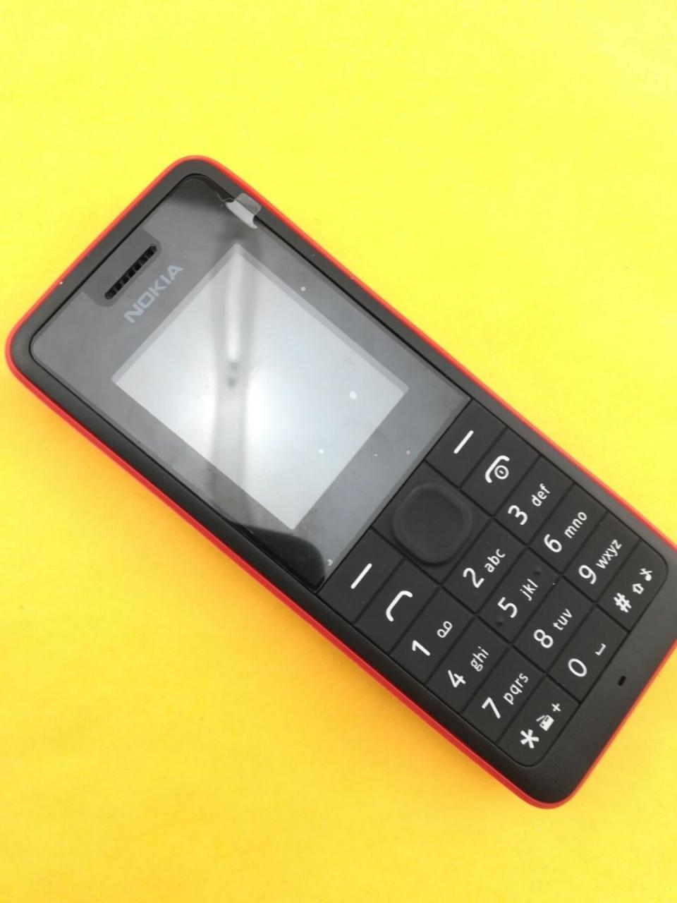 new Nokia 106 Unlocked Simple Mobile Phone Multiple keyboards languages white 7