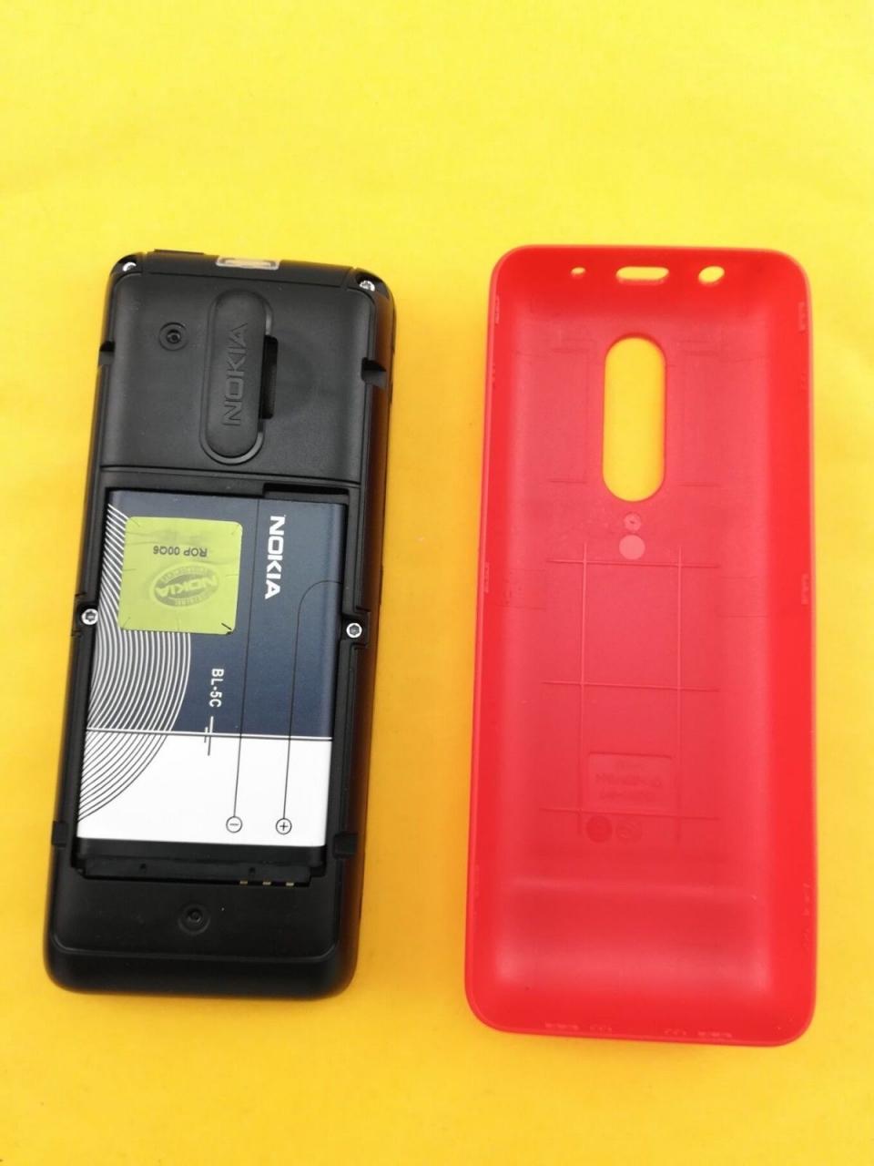 new Nokia 106 Unlocked Simple Mobile Phone Multiple keyboards languages white 9