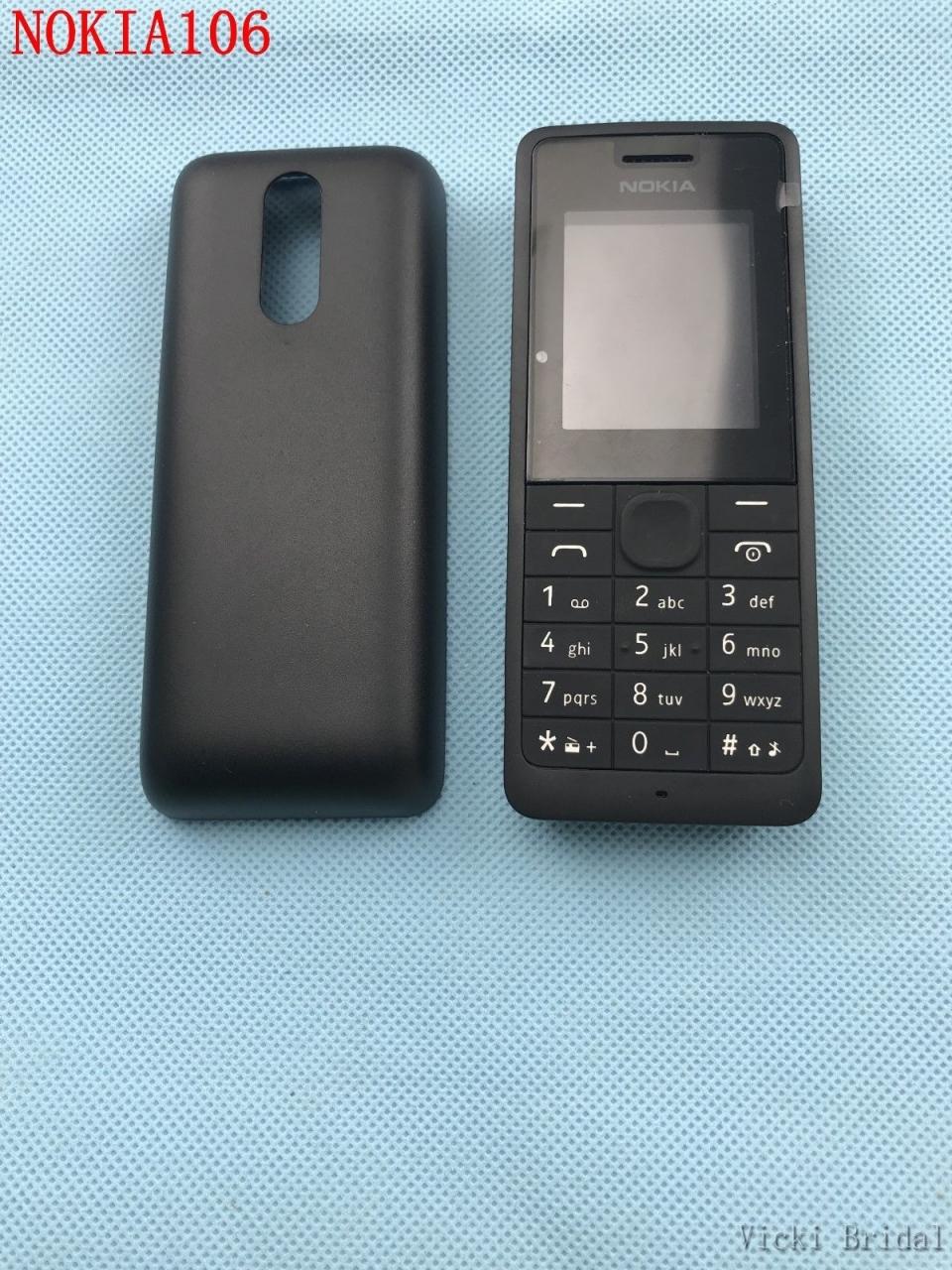 new Nokia 106 Unlocked Simple Mobile Phone Multiple keyboards languages white 14
