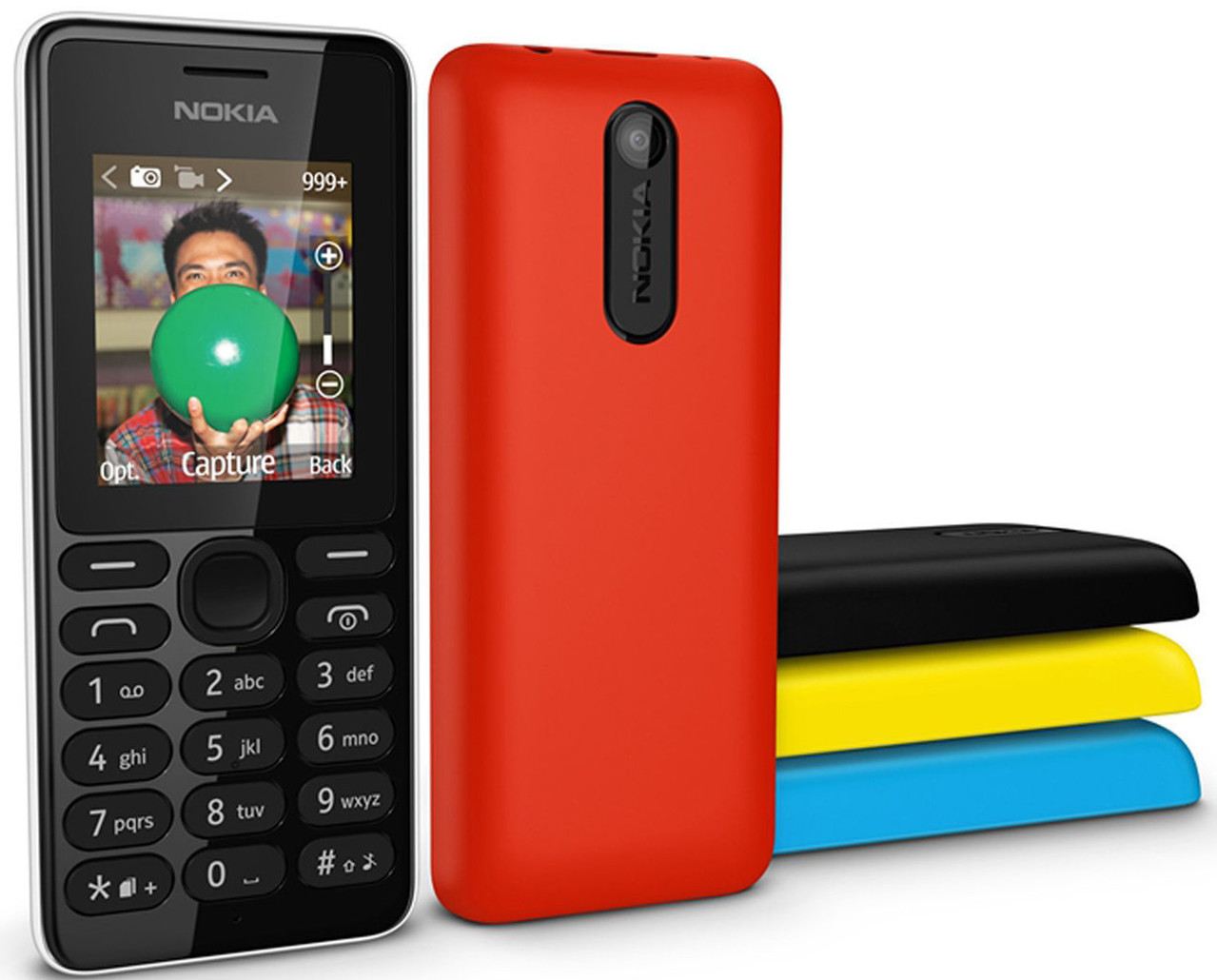 Brand New Nokia 108 Dual Sim Unlocked Gsm Fm camera Mobile Phone red 5