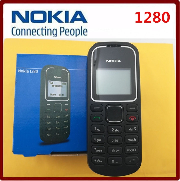 Refurbished phone mobile phone Nokia 1280 Unlocked Wholesale 1280 GSM Cheap Cell phone blue 5