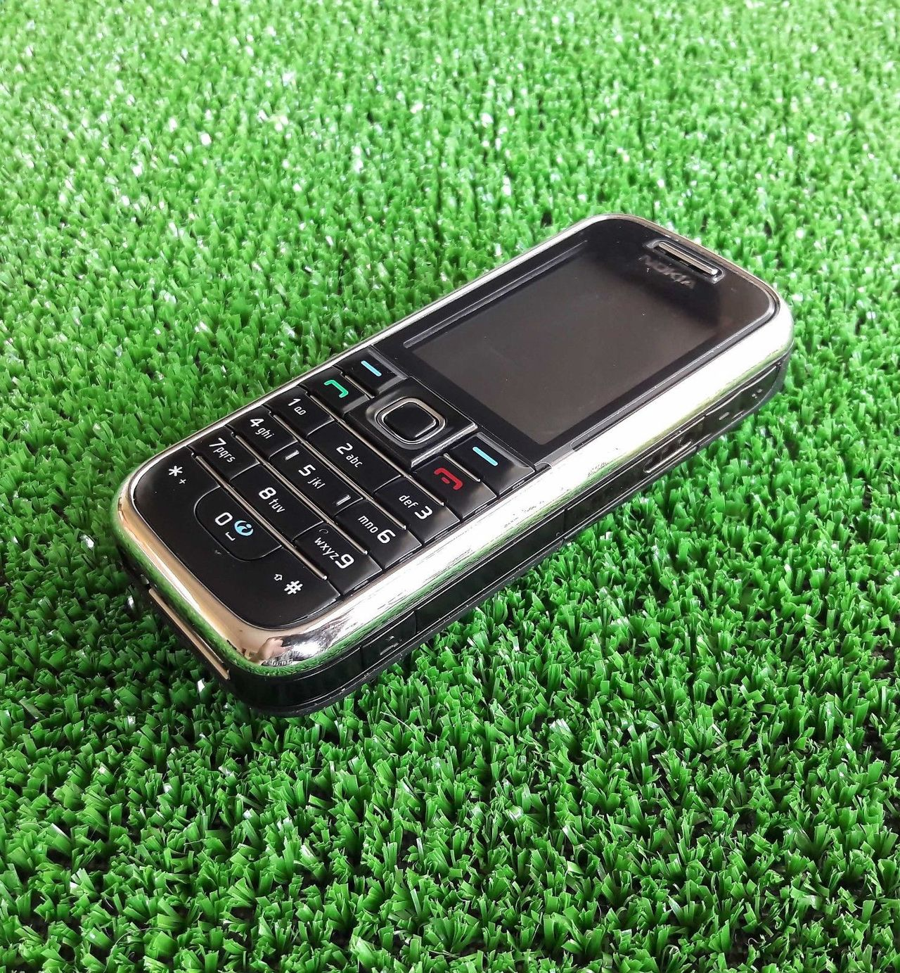 Refurbished nokia 6233 3G mobile phone bluetooth mp3 player classic durable phone black 9