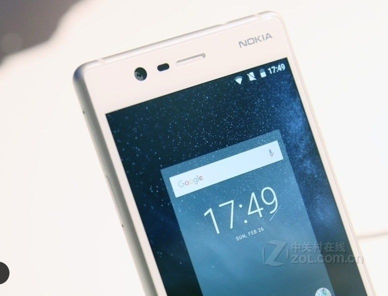 "Refurbished Original Nokia 3 single Dual SIM 16GB ROM "" 2GB RAM 8MP MT6737 Android Phone 2650mAh single sim card blue 8"