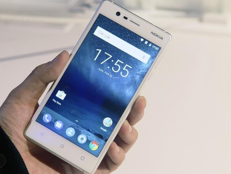 "Refurbished Original Nokia 3 single Dual SIM 16GB ROM "" 2GB RAM 8MP MT6737 Android Phone 2650mAh single sim card blue 2"