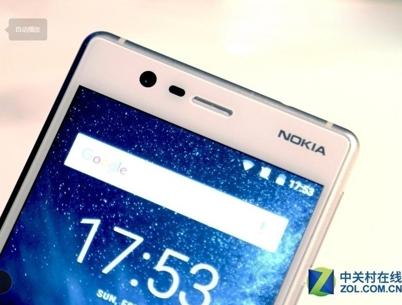 "Refurbished Original Nokia 3 single Dual SIM 16GB ROM "" 2GB RAM 8MP MT6737 Android Phone 2650mAh single sim card blue 4"