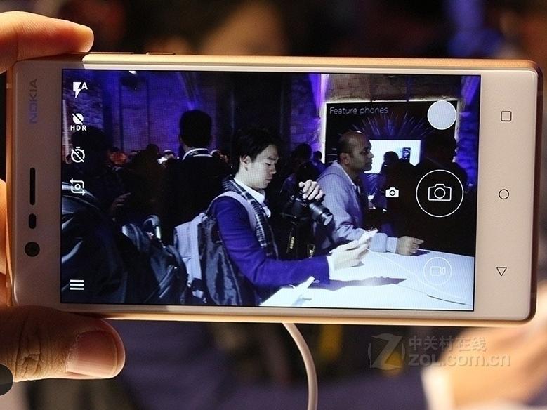 "Refurbished Original Nokia 3 single Dual SIM 16GB ROM "" 2GB RAM 8MP MT6737 Android Phone 2650mAh single sim card blue 3"