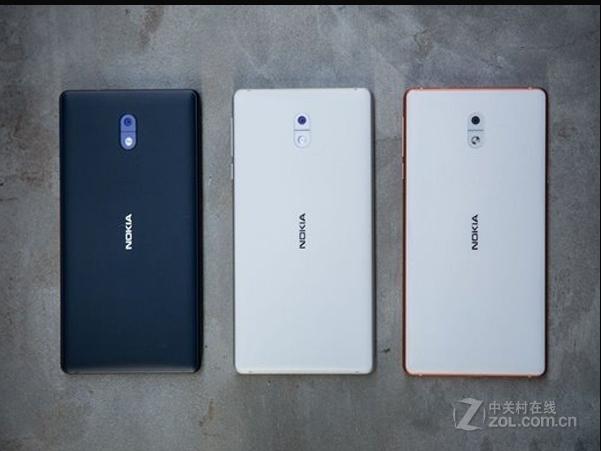 "Refurbished Original Nokia 3 single Dual SIM 16GB ROM "" 2GB RAM 8MP MT6737 Android Phone 2650mAh single sim card blue 11"