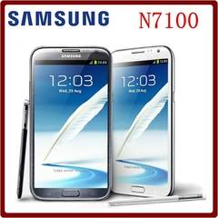 Refurbished phone Samsung Galaxy Note II 2 N7100 N7105 8.0MP 2GB RAM 16GB ROM WCDMA 3G N7105 white