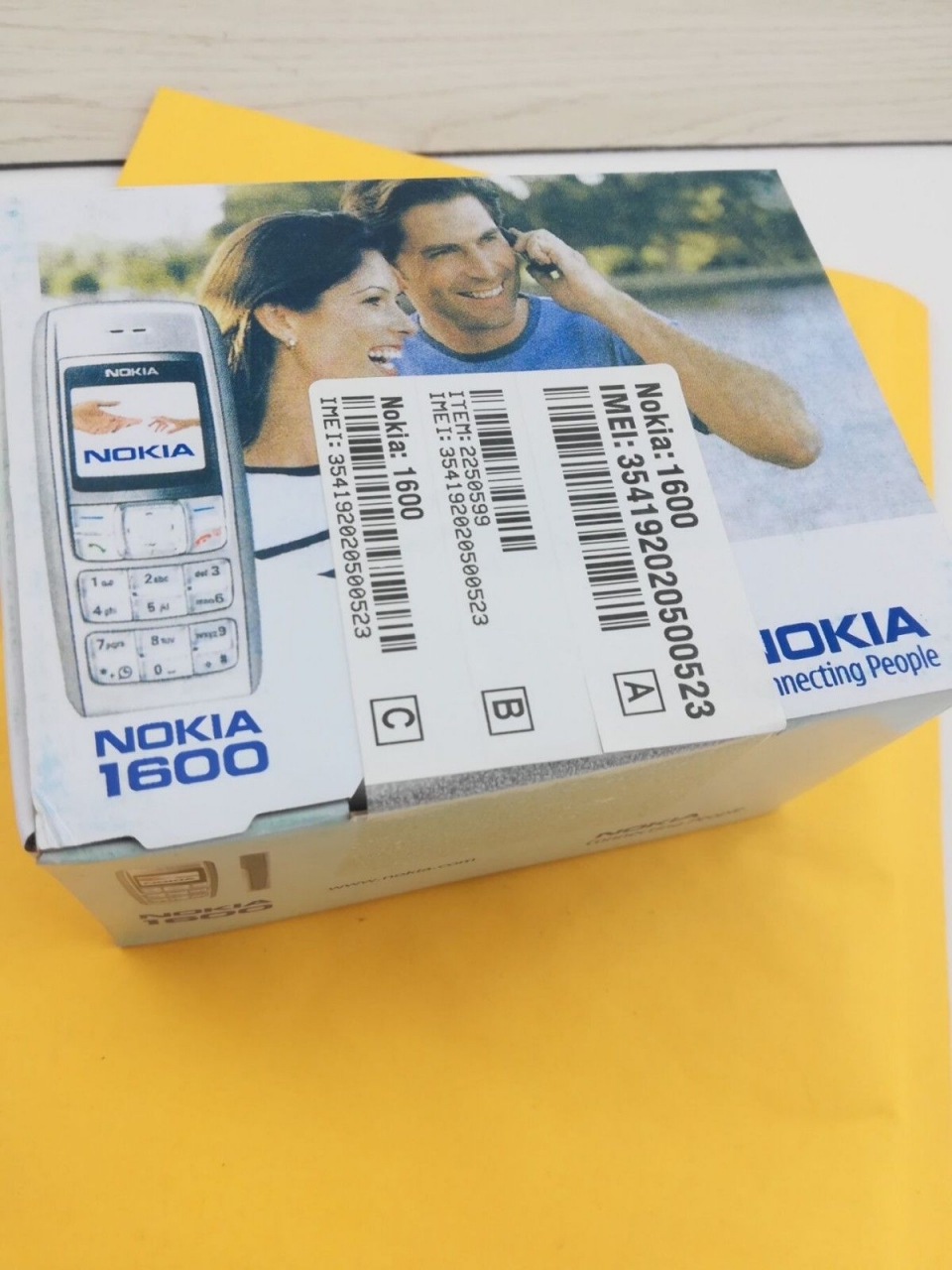 New Original Nokia 1600 Cell Phone Dual band GSM Unlocked Phone