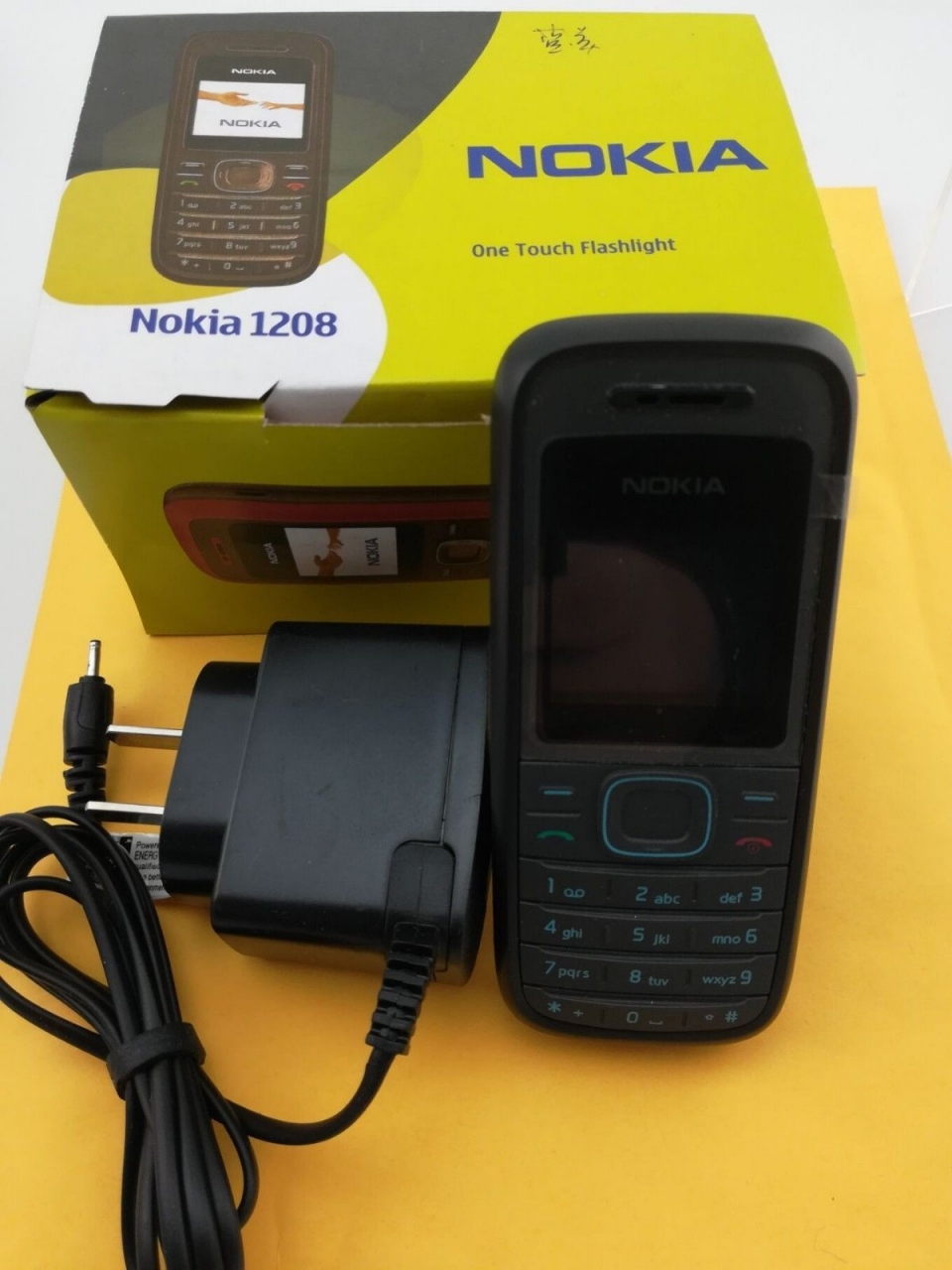 Refurbished phone Original Cellular Nokia 1208 Cheap phones GSM unlocked phone red 13