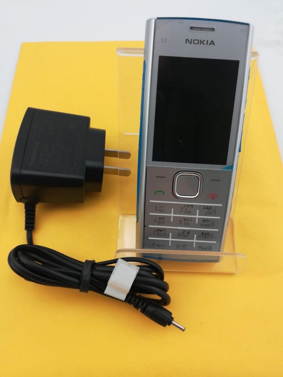 Refurbished phone Nokia X2-00 Bluetooth FM JAVA 5MP Cell Phones Free Shipping black 10