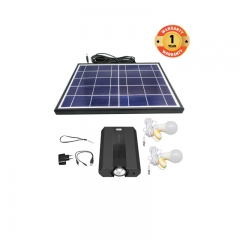 X-TIGI HOME MATE MC10 SOLAR SYSTEM WITH FM RADIO AND HI-FI SPEAKER, 3 CHARGING PORTS, 3 USB OUTPUT