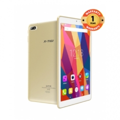 "X-TIGI JOY10 TABLET-10.1"" CAPACITIVE SCREEN, 6000mAh BATTERY, 8MP+5MP CAMERA, 1GB RAM+16GB ROM gold"