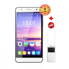 "X-TIGI S1550-5.5"" HD Display, 1.3GHz, 2GB+16GB, 8MP CAMERA,3100mAh, FREE SCREEN PROTECTOR+CASE white"