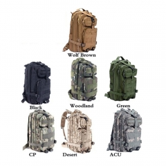 3P Tactical Military  Backpack Oxford Outdoor Sport Bag for Camping Traveling Hiking Trekking  30L Green 30L