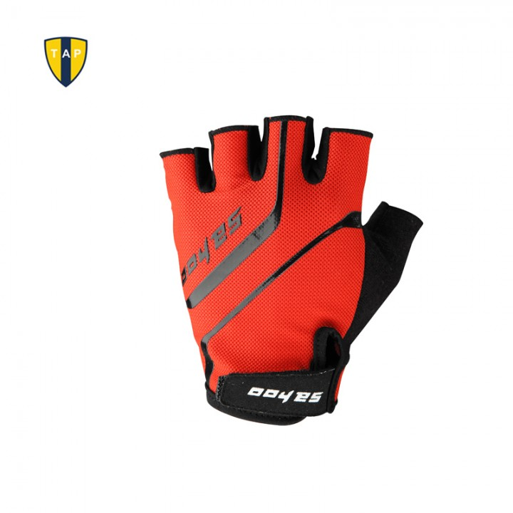 Cycling Bicycle Gloves Moto Bike Half Finger Glove Sports Motorcycle Men's Gloves red XL