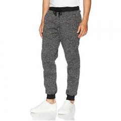 Men's Casual Fitness Sweatpants Cotton Joggers Pants Elastic Waist Sportswear Pants Workout Trousers black m