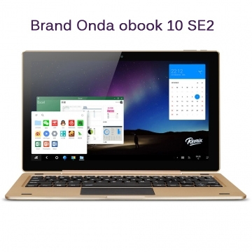 Onda original oBook10 SE 2 in 1 Tablet PC 10.1 inch IPS Screen  2GB RAM 32GB ROM Bluetooth 4.0 HDMI Gold