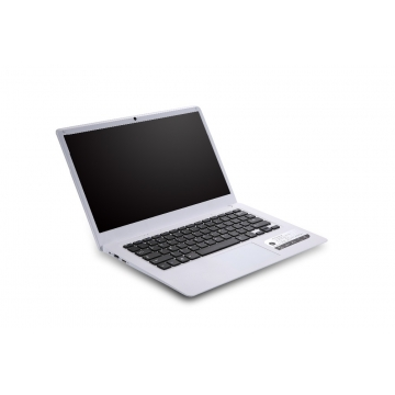 MUETY New arrival 14 inch Wide IPS Screen laptop ultrabook  Quad Core Win10 OS computer silver one size