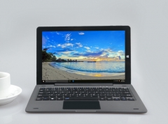 MUETY 10.1 inch Intel Atom Z8350 with keyboard 2in1 notebook Laptop wifi Notebook 4GB 64GB black one size