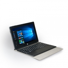 10.1 inch 3g 4g Intel Atom Z8350 with Detachable Keyboard 2in1 notebook Laptop Notebook black one size