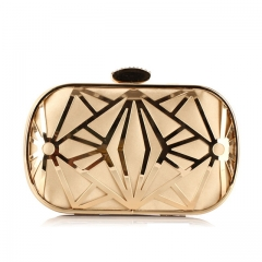 Luxury Clutch Bags Women Wedding Bags Black Gold Purse Dinner Purse Mini Chain Shoulder Banquet Bag Gold One size