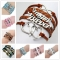Fashion Vintage Bird Tree Owls Anchors Rudder Rope Braided Bracelet Wrap Leather Bracelet Multilayer Color Random 1 PCS