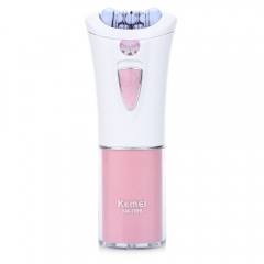 Portable Lady Epilator Electric Hair Removal Female Body Face Depilatory Personal Care Machine PINK