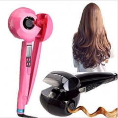 Pro Hair Curler Styler   Hair Curler Automatic Hair Curl Roller Curling Wand pink 28cm*10cm*8cm