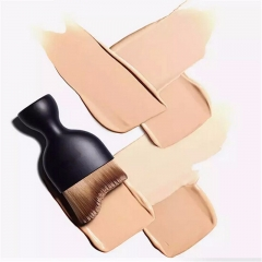 Single Bottle Makeup Liquid Foundation Blending Brush as picture