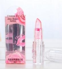Black Chrysanthemum Lipstick 3 Fruit Flavors Temperature changed Lip Balm Moisturizer Lips 03