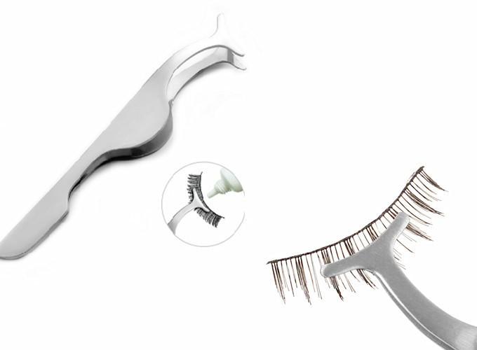 Eyelash Curler False Fake Eyelashes clip stainless steel Eye Lash metic Tool as picture