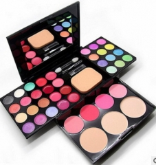 Cosmetic Set Eyebrow Palette Foundation Palette Blusher Lipstick Make UP Kit as picture