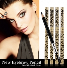 Eyebrow Pencil & Brush eyebrow enhancer Longlasting makeup pencil to eye Two Sides With Brush Design 01