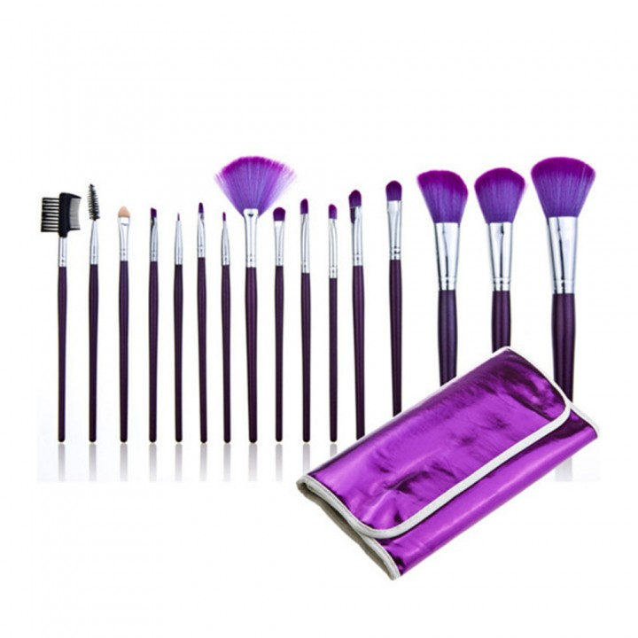 16 PCS Makeup Brushes Set Kit  Cosmetic Brush Foundation Eyeshadow Brush Tools as picture