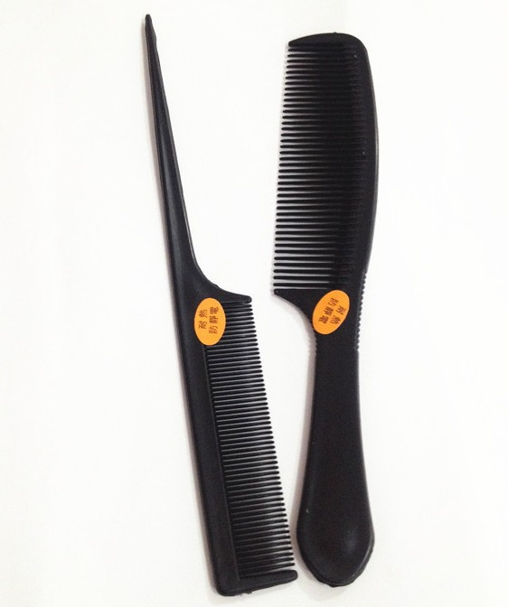 2 PCs/set Make Up Comb Professional Hair Combs Anti-static Hairbrush as picture as picture