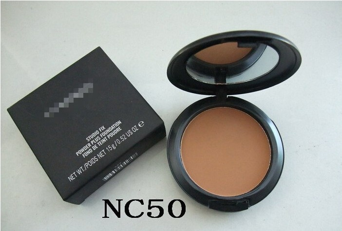 Fablous Pressed Face Makeup Maquiagem Batom Cosmetics Powder Makeup Powder Palette Skin Finsh NC50