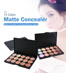 15 Colors Concealer Contour Palette Women Contouring Makeup Care Cream Palette as picture